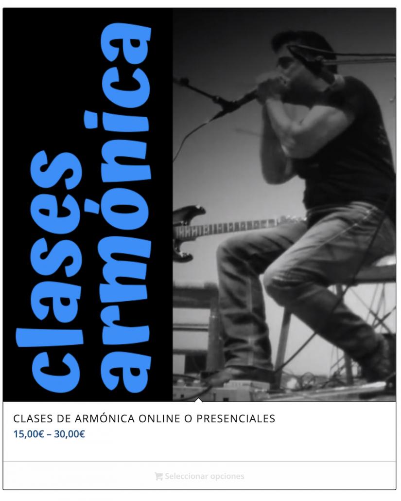 Elegir tipo de clases armónica con Juan Blas